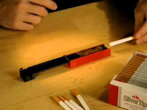 Самодельная машинка для закрутки сигарет 120