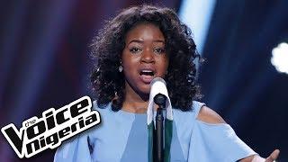 "Sandra Osamor sings ""Nigerian National Anthem"" / Blind Auditions / The Voice Nigeria Season 2"