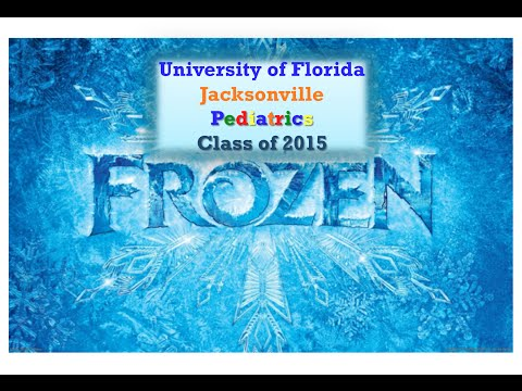 Frozen: UF Jax Pediatric Residency Parody
