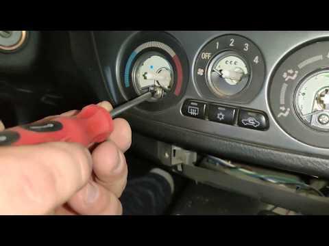 Ремонт троса печки Mitsubishi Lancer 9