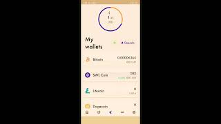My first deposit staked link in join us for All cryptocurrencies available in one wallet