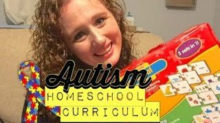 AUTISM HOMESCHOOL CURRICULUM FOR 3RD GRADE || School Year 2016-17