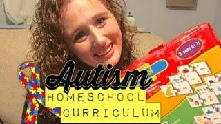 AUTISM HOMESCHOOL CURRICULUM FOR 3RD GRADE || School Year 2016-17