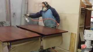 Refinishing A Mahogany Pub Table  Timeless Arts Refinishing