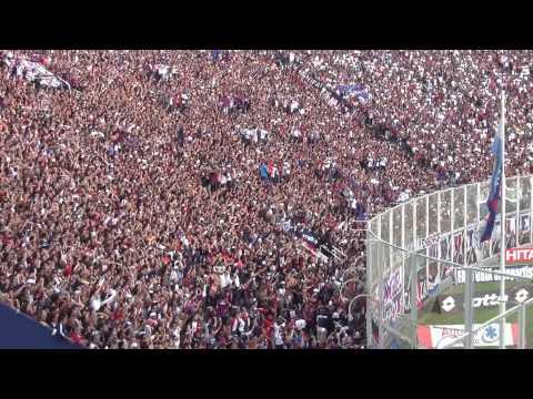 San Lorenzo 2 River 0 Gol de Cetto. Con esta hinchada yo te quiero ver campeón...