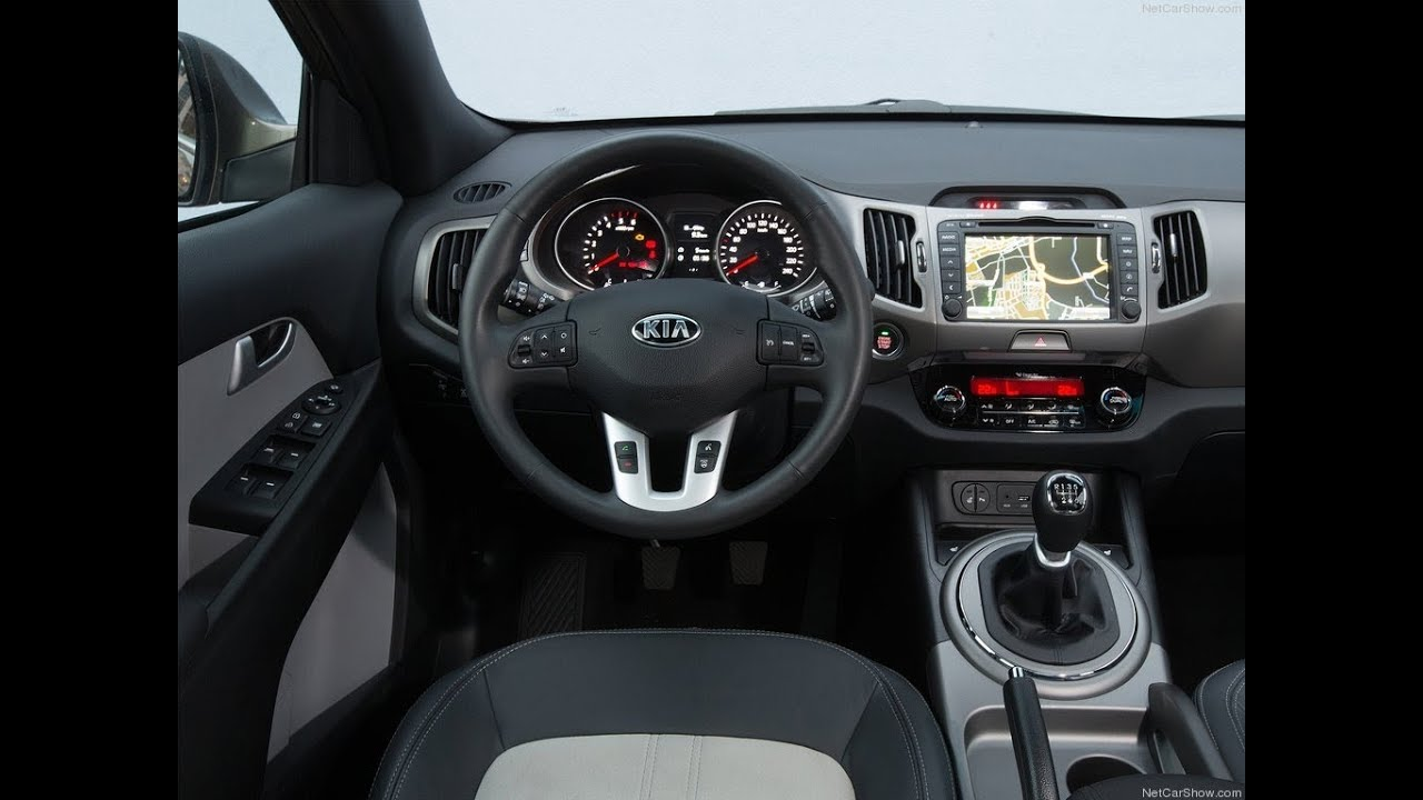 2014 Kia Sportage Interior - YouTube
