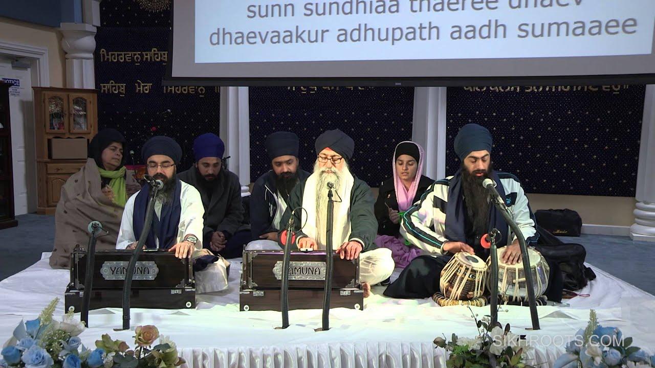 Bhai Manmohan Singh (USA) & Bhai Sukhwinder Singh (UK) - Aarti, Simran & Kirtan 2015
