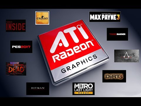TOP 10 Games Playable On AMD/ATI Radeon HD 4350 (2018)