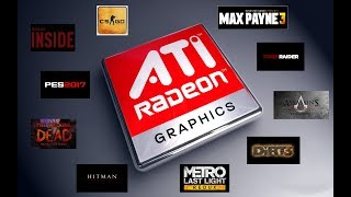 TOP 10 Games Playable on AMD/ATI Radeon HD 4350 (2018)