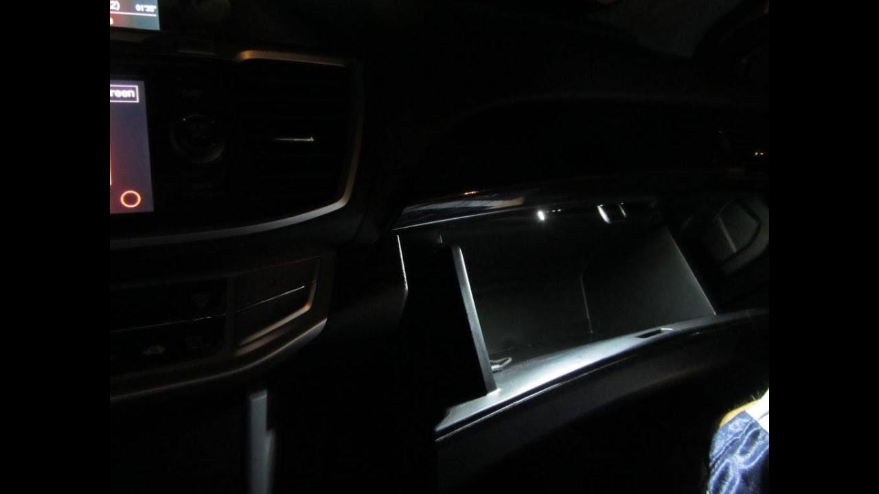 Honda glove compartment light