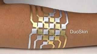 Los tatuajes del futuro - DuoSkin