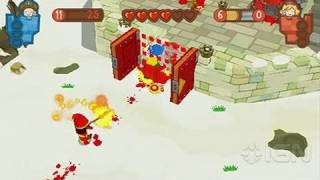 Fat Princess: Fistful of Cake Sony PSP Gameplay - Blood Snow