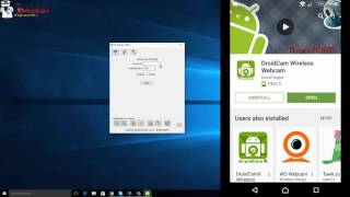 How to use an Android phone as a WebCam [DroidCam Wireless Webcam] screenshot 1