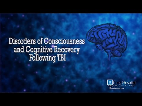 Disorder of Consciousness & Cognitive Recovery Following TBI Levels 1-3