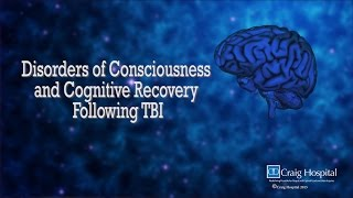 disorder of consciousness cognitive recovery following tbi levels 1 3