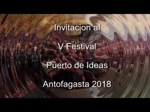 V Festival, Puerto de Ideas. Antofagasta 2018   YouTube