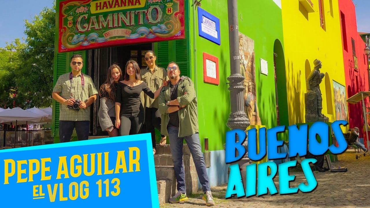 Pepe Aguilar - El Vlog - 113 - Buenos Aires