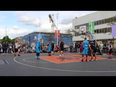 Semifinals Men Elite Streetball Masters Amsterdam 2016. Team Amsterdam vs Novi Sad Al Wahda