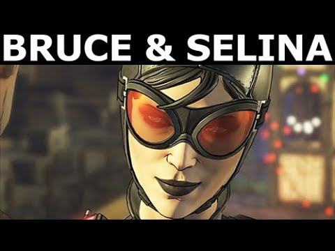 Bruce & Catwoman - The Best Choices - BATMAN Season 2 The Enemy Within Episode 3: Fractured Mask