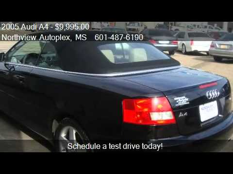 Audi A T Dr Cabriolet For Sale In Jackson MS YouTube - Audi jackson ms
