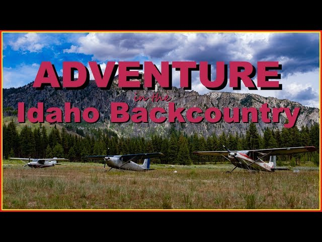 Flying the remote Mountains and BACKCOUNTRY of Idaho | Montana | Oregon - 4K