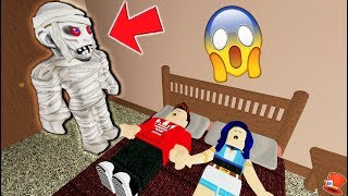 This Monster comes at NIGHT in Roblox!