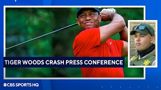 Tiger Woods Crash: Full Press Conference By LA County Sherriff's Department | CBS Sports HQ