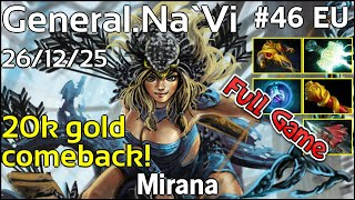 General NaVi Mirana - Dota 2 Full Game 7.17