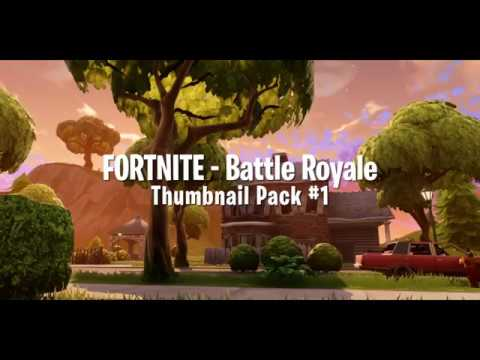 Fortnite Battle Royale Thumbnail Pack  Free To Use