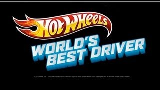 Hot Wheels Worlds Best Driver:GAMEPLAY-Catch me if You Can-stage 2