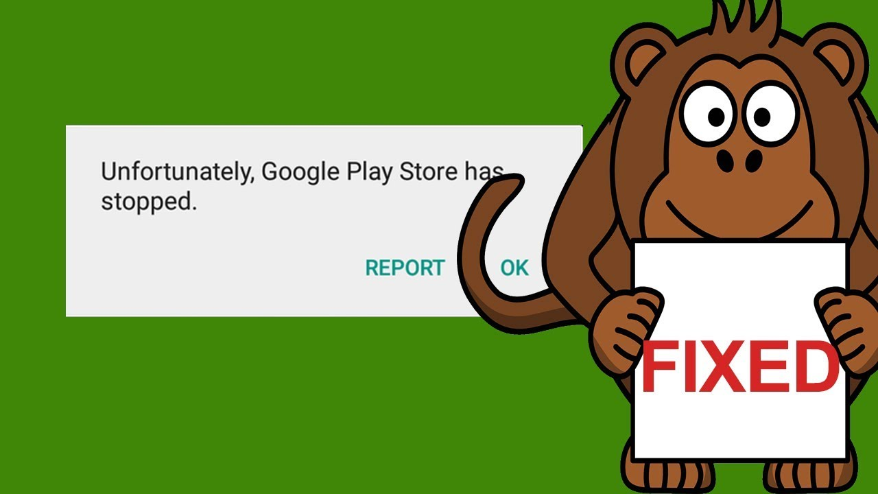Quick fix unfortunately google play services has stopped