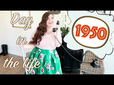 Day in the Life 1950's Housewife | Bits of Paradis