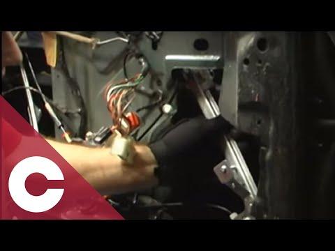 How to install replace power window regulator chrysler for 2002 dodge caravan power window problem
