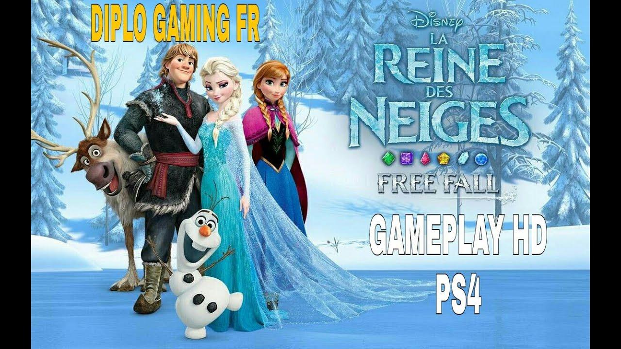 la reine des neiges ps4 jeu gratuit gameplay hd - Jeux Gratuits De La Reine Des Neiges
