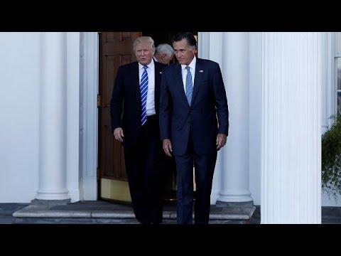 Trump elige a Steven Mnuchin como secretario del Tesoro y a Wilbur Ross de Comercio