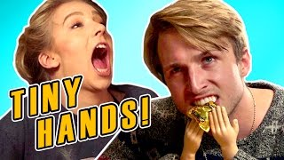 SUBSCRIBE TO SMOSH 2ND ▻▻ http://youtube.com/ianH SMOSH LAB! ▻▻ https://youtu.be/SUBPklvPuL0 Time for the TINY HANDS CHALLENGE! Send us ...