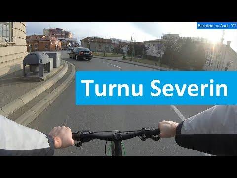 Bicicling in Turnu-Severin . Trekking Bike Univega Terreno