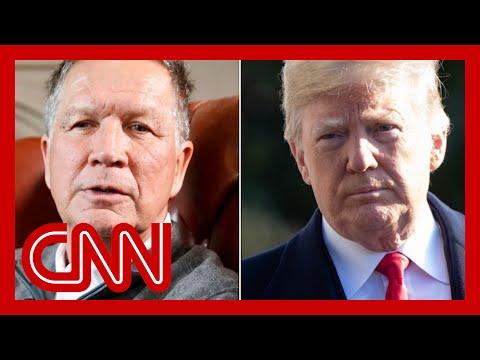 John Kasich: President Trump is 'in a meltdown'