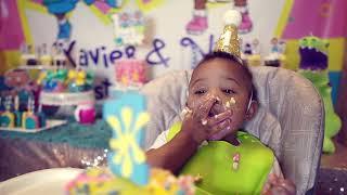 Nina & Xavier - 1st Birthday Party