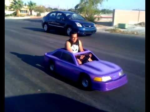Fox Body Mustang Go Cart Youtube