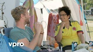 Casper Sikkema (VICE) bij Tims ^ Tent met Tim den Besten