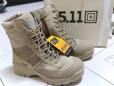 Sepatu 511 Tactical Boots Unboxing