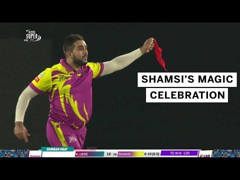 Tabraiz Shamsi's Magic Celebration In The MSL