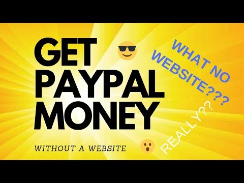 how to get paid into paypal without a website tyler pratt
