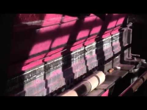 LA CARDE fabrique de couverture et lainages des Pyrénées - YouTube
