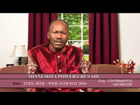 Apostle Johnson Suleman Will Be Live In Minnesota, USA, AMERICA GET READY
