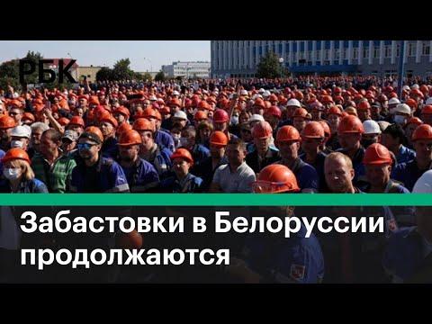 Забастовки в Белоруссии: