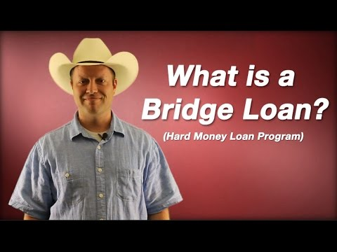 What is a Bridge Loan? - YouTube