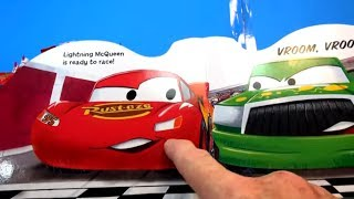 Pac Man Play Doh with Fast as Lightning McQueen Story Book