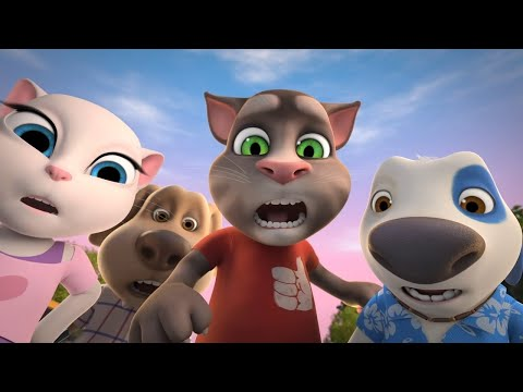 The Great Taxi Race - Talking Tom and Friends Cartoon (Season 4 Episode 7)